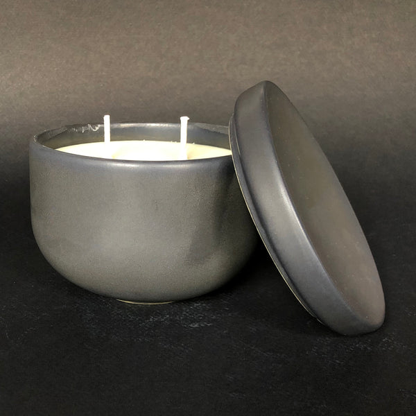 [color] e.baran - Limited Edition Handmade Pottery Candle - Bowl - Holiday Hearth [variant]