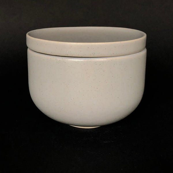 [color] e.baran - Limited Edition Handmade Pottery Candle - Bowl - Lilac Blooms [variant]