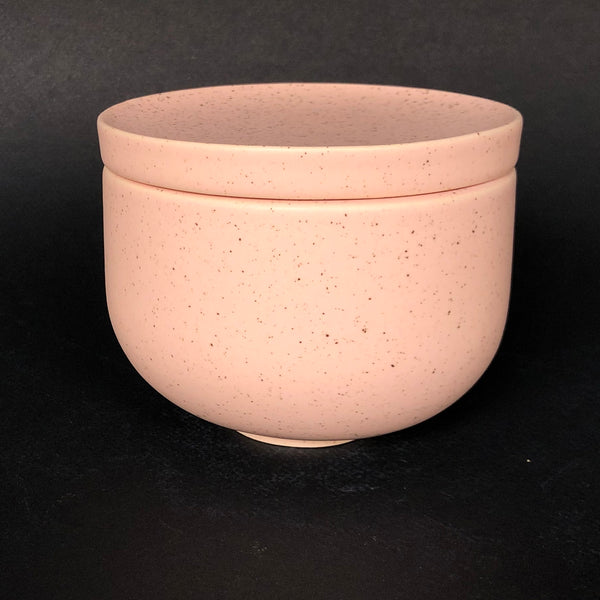[color] e.baran - Limited Edition Handmade Pottery Candle - Bowl - Vintage Leather [variant]