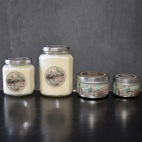 Eucalyptus Scented Baxter Manor Candles