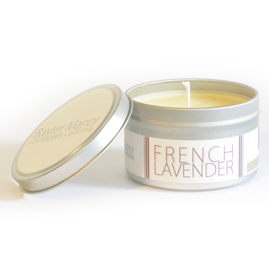 [color] Baxter Manor - Modern Candle - French Lavender [variant]