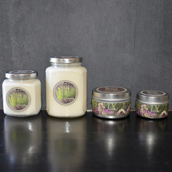 Lavender Scented Baxter Manor Candles