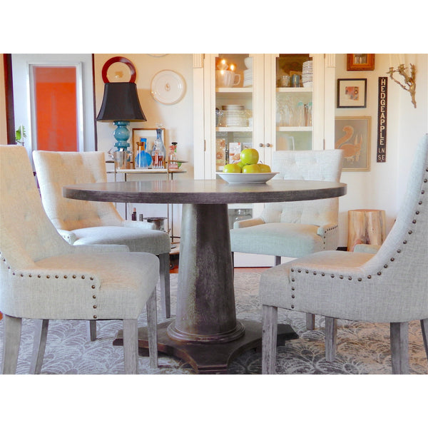 [color] angelo:HOME Dining Table - Ariane (grey) [variant]