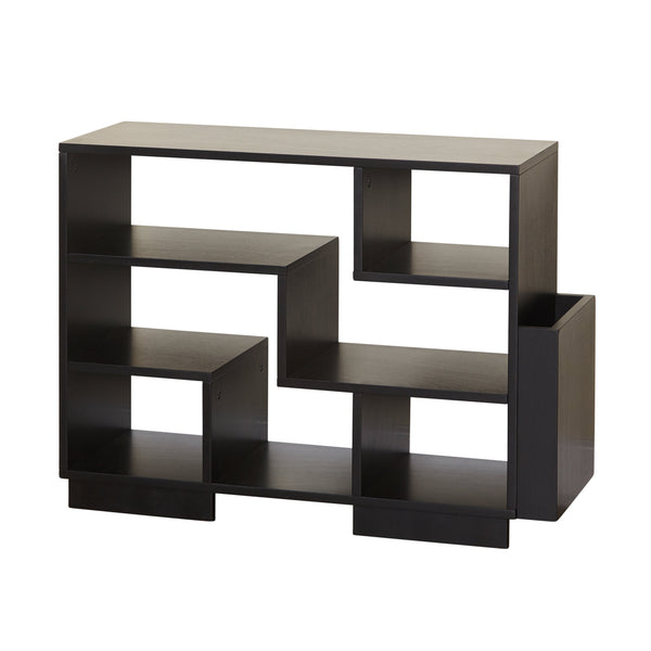 [color] angelo:HOME Bookcase - Leon (black) [variant]