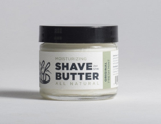 ALL-NATURAL MOISTURIZING SHAVE BUTTER REVIEW