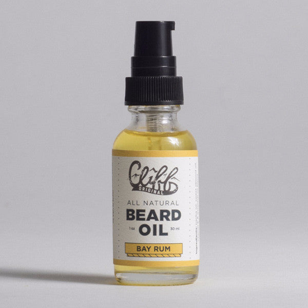 Cliff Original All Natural Beard Oil - Bay Rum