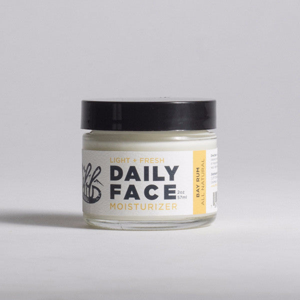 Cliff Original All Natural Daily Face Moisturizer - Bay Rum