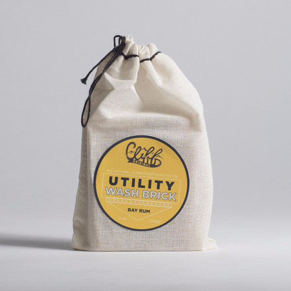 Cliff Original All Natural Utility Wash Brick - Bay Rum