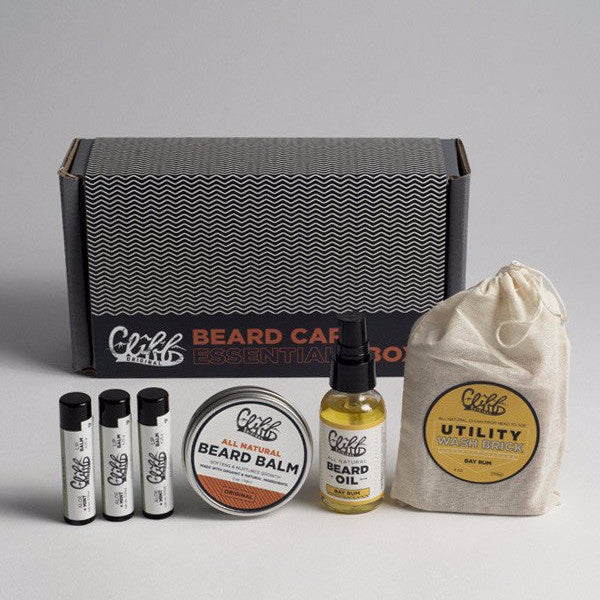 Cliff Original Beard Care Essentials Box - Bay Rum