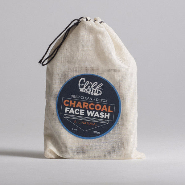 Cliff Original All Natural Face Wash - Charcoal