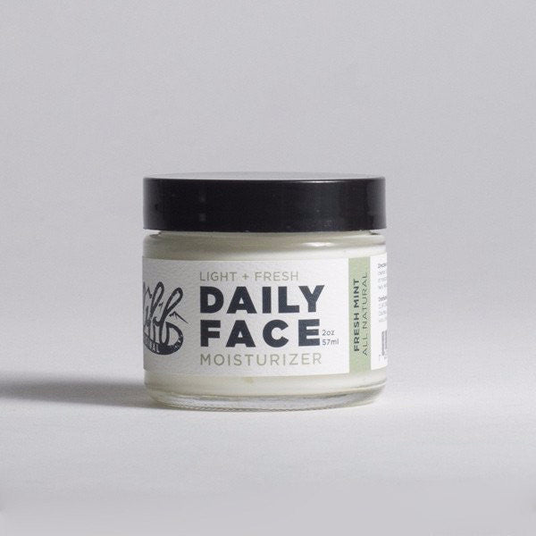 Cliff Original All Natural Daily Face Moisturizer - Mint