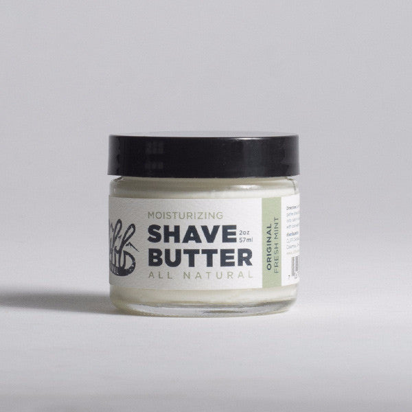 Cliff Original All Natural Shave Butter - Mint