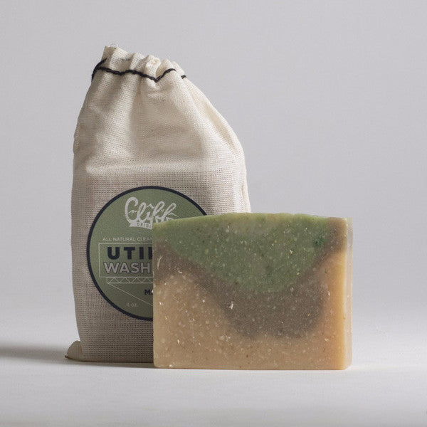 Cliff Original All Natural Utility Wash Brick - Mint