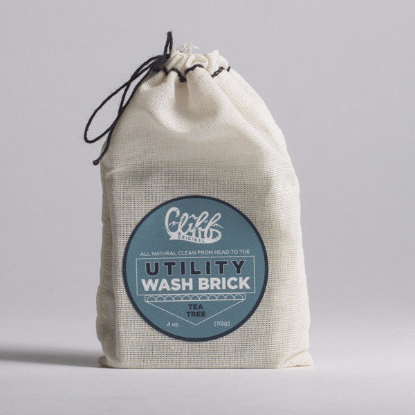 Cliff Original All Natural Utility Wash Brick - Tea Tree
