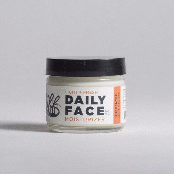 Cliff Original All Natural Daily Face Moisturizer - Unscented