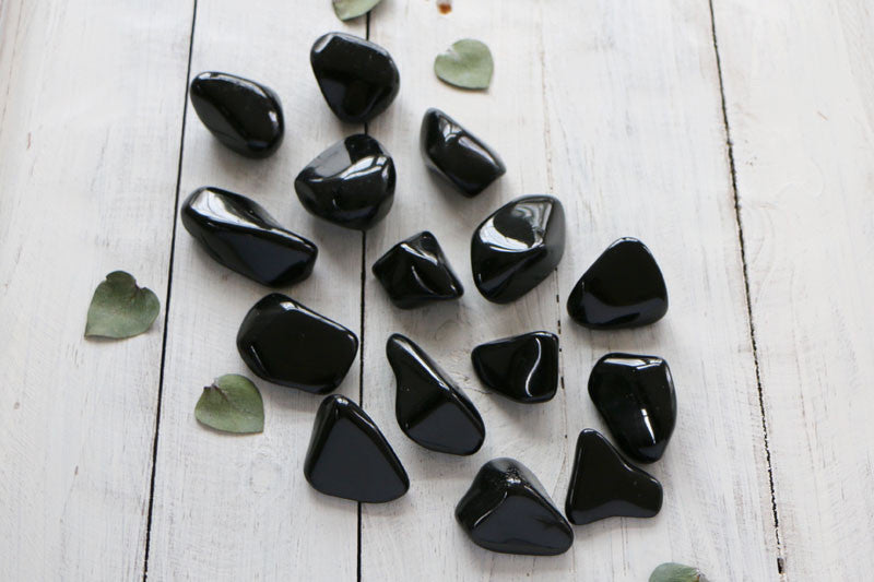 Black Tourmaline- Tumbled