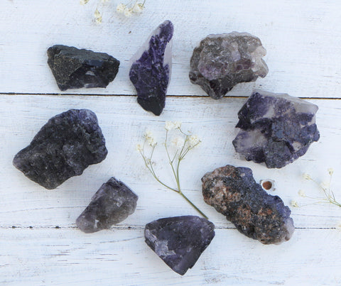 Fluorite - Purple Chunks - Medium