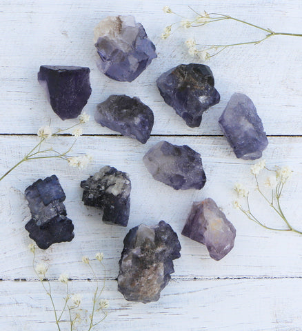 Fluorite - Purple Chunks - Small