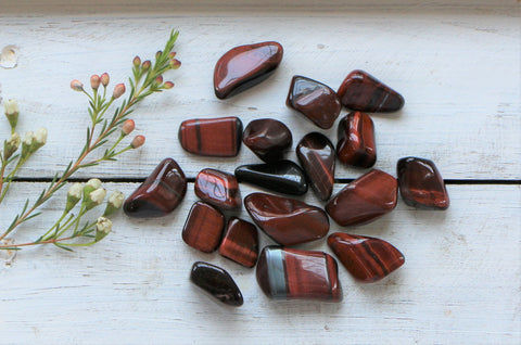 Tiger Eye- Red