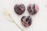 Rhodonite Hearts