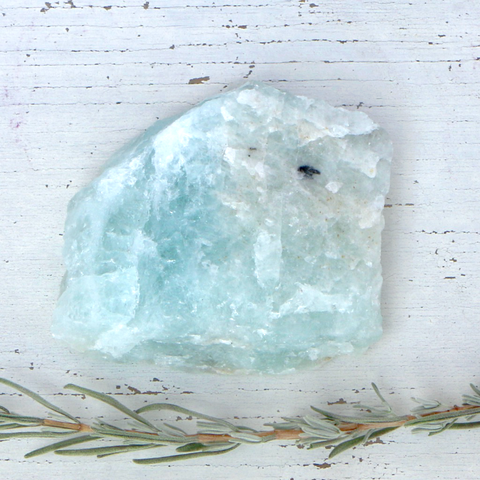 Beryl var. Aquamarine - Medium Raw Piece A Grade