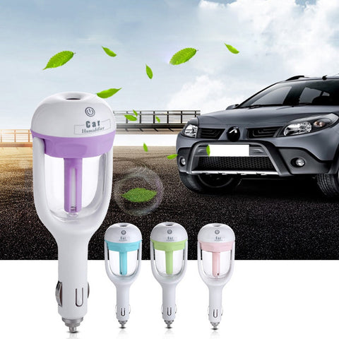 Image of Portable humidifier - portable mini car humidifier diffuser car aromatherapy cool mist refill - cheap - mommyfanatic