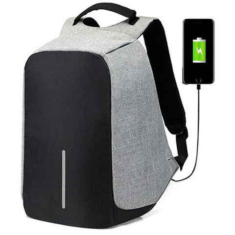 Image of Laptop backpack - anti-theft smart backpack for college men 15-inch with usb charging port waterproof 2018 price - mommyfanatic