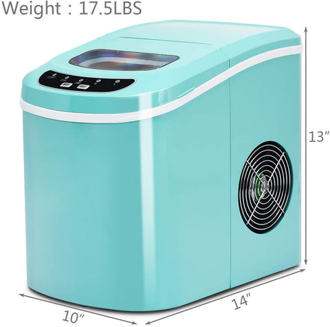 Small Countertop ice maker portable nugget crushed ice - affordable - mommyfanatic