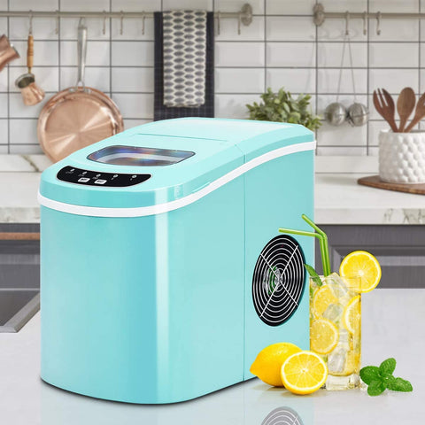 Image of Small Countertop ice maker portable nugget crushed ice - affordable - mommyfanatic
