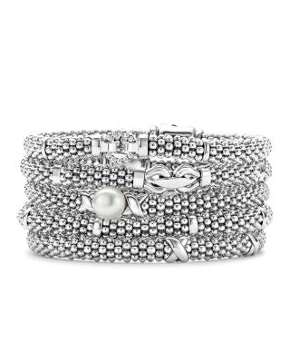 Jewelry clearance Lagos signature white caviar beaded bracelet - mommyfanatic