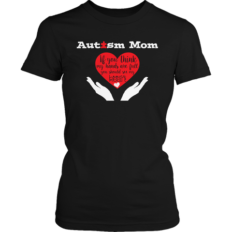 Image of Autism awareness long sleeve t-shirts for moms 2019 - mommyfanatic