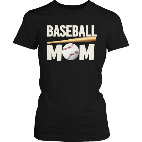 Image of Baseball Mom Tshirt - mommyfanatic