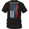 No One Fights Alone Police Tshirt - mommyfanatic