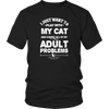 Play With Cat Ignore Problems Tshirt - mommyfanatic