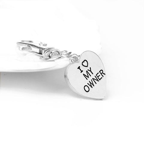 Image of I love My Dog Key Chain Necklace Set - mommyfanatic
