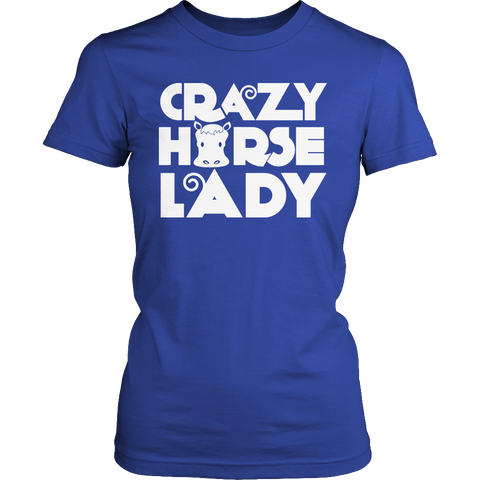 Image of Crazy Horse Lady Tshirt - mommyfanatic