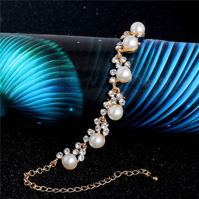 Women Pearl Bead Bracelet - mommyfanatic