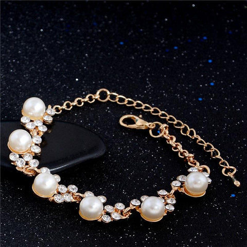 Image of Women Pearl Bead Bracelet - mommyfanatic