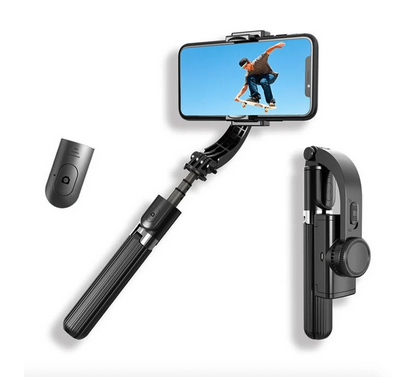 Image of Gimbal Mobile Selfie Stick Smartphone Stabilizer USB Charging tripod - mommyfanatic