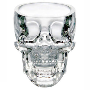 Whiskey, Wine, Vodka Skull Head Shot Glass - mommyfanatic