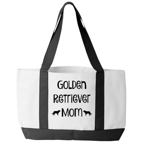 Golden Retriever Mom Tote Bag - mommyfanatic