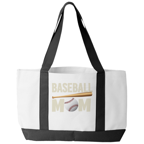 Baseball Mom Tote Bag - mommyfanatic