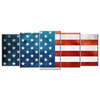 American Flag 5 panels Wall Art - mommyfanatic