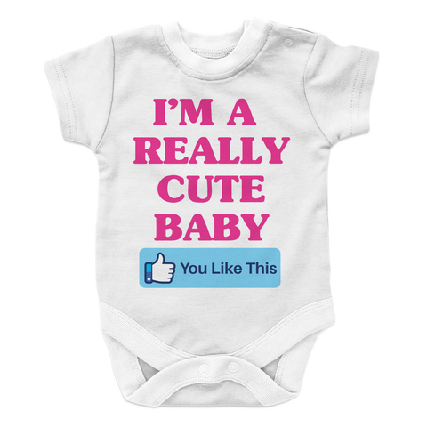 Really Cute baby Onesie - mommyfanatic
