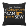 Sewing Retirement Plan Pillowcase - mommyfanatic