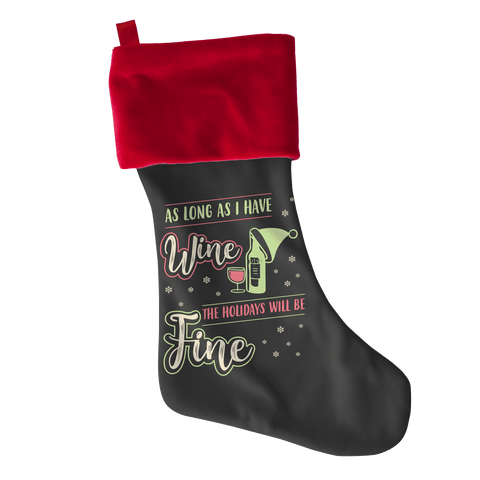 Wine UCS Christmas Stocking - mommyfanatic