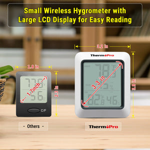 Accurate thermometer hydrometer indoor outdoor wireless humidity sensor - mommyfanatic