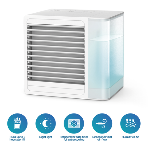 Personal easy summer cool Portable mini Air Conditioner humidifier fan - mommyfanatic