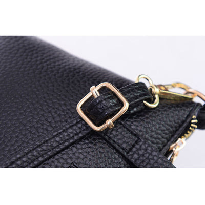 Women Leather Messenger Shoulder bag - mommyfanatic