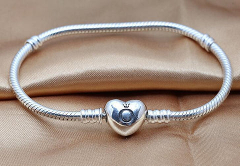 Image of Silver Snake Chain Bracelet - mommyfanatic
